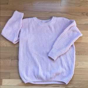 Pretty pink sweater